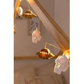 LED dekorativer Kranz (2,23 m) Espeis Kids, Miniaturansicht 1