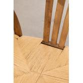 Uish Retro Holz Esszimmerstuhl, Miniaturansicht 5