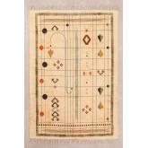 Baumwollteppich (180x123 cm) Grafik, Miniaturansicht 1