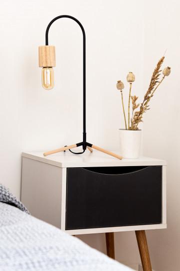Nachttisch aus Holz Babi