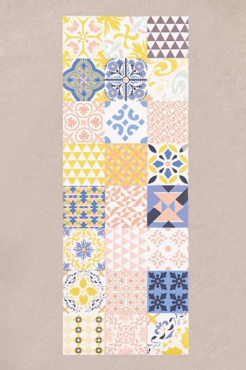 Vinylteppich (135x50 cm) Zule
