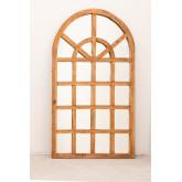 Spiegel aus recyceltem Holz (149 x 87 cm) Vient, Miniaturansicht 2