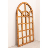 Spiegel aus recyceltem Holz (149 x 87 cm) Vient, Miniaturansicht 3