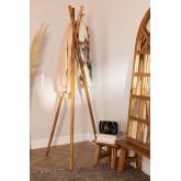 Varah recyceltes Holz Garderobe, Miniaturansicht 1