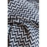 Karierte Decke aus Tajum-Baumwolle, Miniaturansicht 3