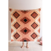 Kelsy Cotton Plaid Decke, Miniaturansicht 1