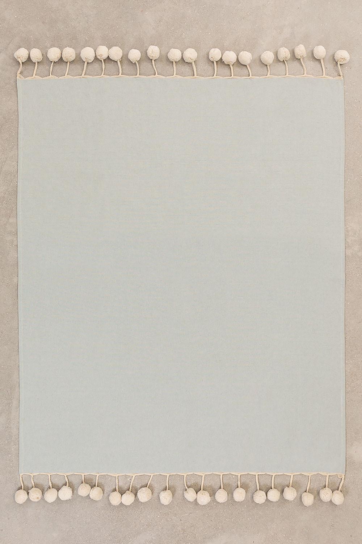 Karierte Baumwolldecke Olis, Galeriebild 1