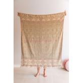 Karierte Decke aus Paiti-Baumwolle, Miniaturansicht 1