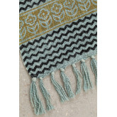 Karierte Decke aus Karelis-Baumwolle, Miniaturansicht 2