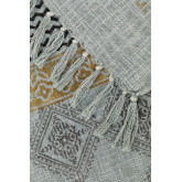 Karierte Decke aus Karelis-Baumwolle, Miniaturansicht 3