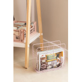 Urial Steel Magazine Rack, Miniaturansicht 6
