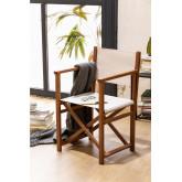 Pitt Folding Director Chair, Miniaturansicht 1