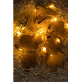 LED dekorativer Kranz (2,30 m) Domby Kids, Miniaturansicht 3