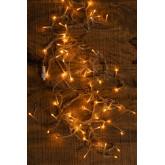 Vorhang mit LED-Lichtern (2 m) Jill Warm Light, Miniaturansicht 3