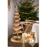 Dekorativer Weihnachtsbaum mit LED-Licht in Madi Wood, Miniaturansicht 1