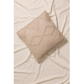 Quadratisches Baumwollkissen (50x50cm) Pavad, Miniaturansicht 1