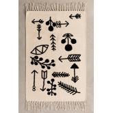 Rechteckiger Baumwollteppich (110x62 cm) Indi Kids, Miniaturansicht 2