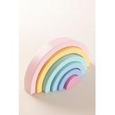 Regenbogen Bowy Kids aus Holz, Miniaturansicht 2