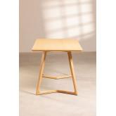 Rechteckiger Esstisch aus Eschenholz (160x80 cm) Keira, Miniaturansicht 4