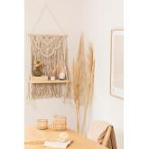 Wandteppich mit Wandregal in Cotton Beep, Miniaturansicht 1
