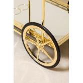 Ashi Metall und Spiegel Kellnerin Trolley, Miniaturansicht 5