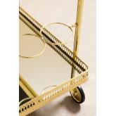 Ashi Metall und Spiegel Kellnerin Trolley, Miniaturansicht 4