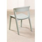 Stapelbarer Stuhl aus Ingwerholz, Miniaturansicht 4