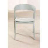 Stapelbarer Stuhl aus Ingwerholz, Miniaturansicht 5