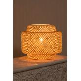Lexie Bambus Tischlampe, Miniaturansicht 4