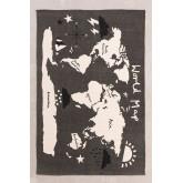 Baumwollteppich (180x120 cm) Karte, Miniaturansicht 1