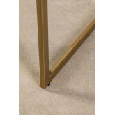 Dubhar Velvet gepolsterter Esszimmerstuhl, Miniaturansicht 6