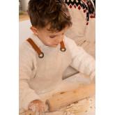 Leinen- und Baumwollschürze Zacari Kids, Miniaturansicht 2