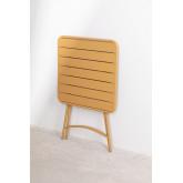 Klappbarer Gartentisch aus Stahl (60 x 60 cm) Janti , Miniaturansicht 5