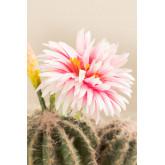 Künstlicher Kaktus mit Rebutia-Blumen, Miniaturansicht 4