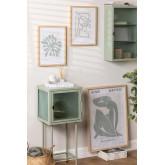 Set mit 3 dekorativen Drucken (50x70 und 30x40 cm) Donna, Miniaturansicht 1