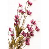 Packung mit 2 künstlichen Zweigen Gänseblümchen, Miniaturansicht 3