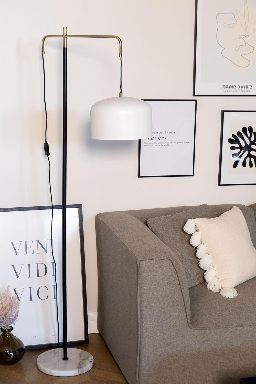 Stehlampe mit Fendi Hängeschirm, Galeriebild 1