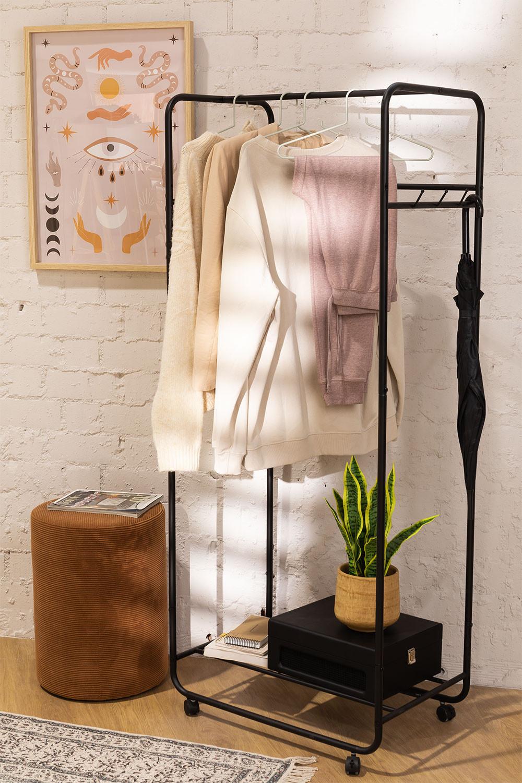Safra Garderobe auf Rädern, Galeriebild 1