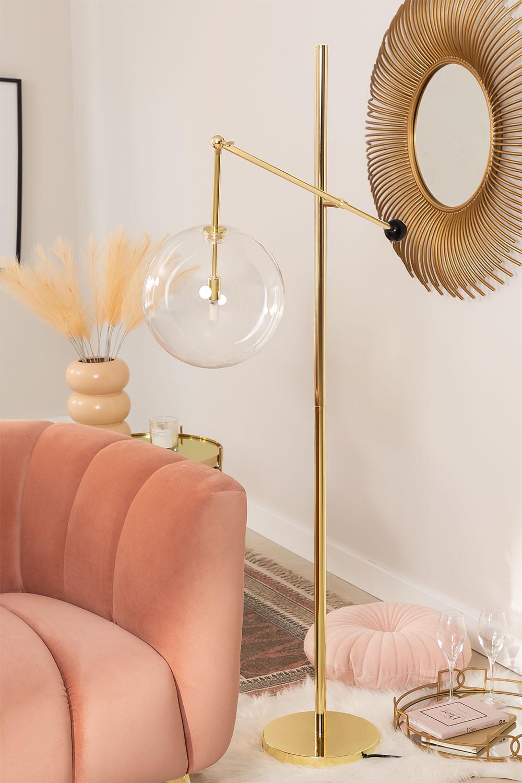Metall Stehlampe Lomy, Galeriebild 1