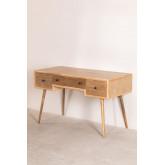 Berkem MDF Schreibtisch mit Schubladen, Miniaturansicht 2