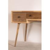 Berkem MDF Schreibtisch mit Schubladen, Miniaturansicht 6