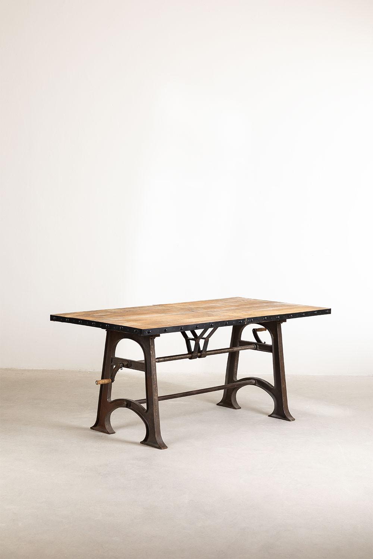 Ausziehbarer Esstisch aus Holz (184-236x91 cm) Tich, Galeriebild 925791