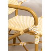 Gartenstuhl aus synthetischem Wicker Alisa, Miniaturansicht 5