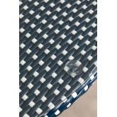 Runder Gartentisch aus synthetischem Korbgeflecht (Ø80 cm) Alisa, Miniaturansicht 3