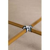 Runder Gartentisch aus synthetischem Korbgeflecht (Ø80 cm) Alisa, Miniaturansicht 4