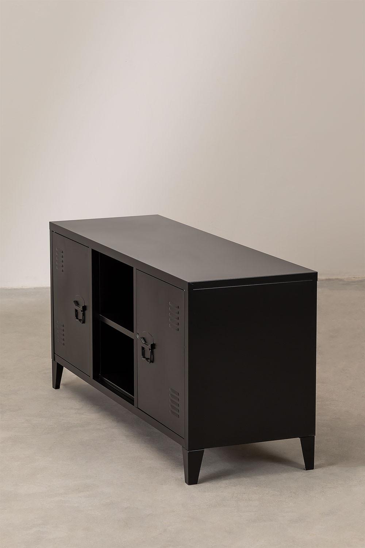 TV-Schrank mit Metallregal Pohpli, Galeriebild 1