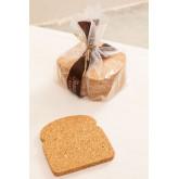 Packung mit 6 Binbo Cork Untersetzern, Miniaturansicht 1