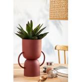 Vase aus Metall Rob, Miniaturansicht 1