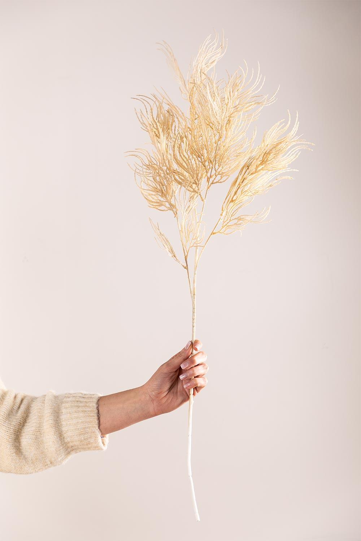 Packung mit 2 künstlichen Zweigen Pampa, Galeriebild 1