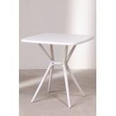 Quadratischer Tisch im Freien (72x72 cm) Enno, Miniaturansicht 2
